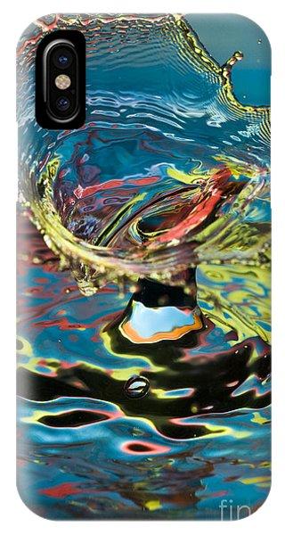 Water Splash Exploding IPhone Case