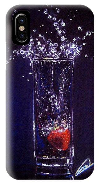 Water Splash Reflection IPhone Case