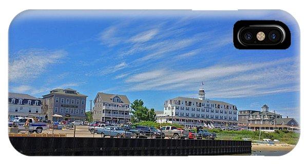Water Street Block Island IPhone Case