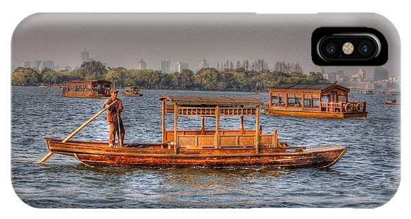 Water Taxi In China IPhone Case
