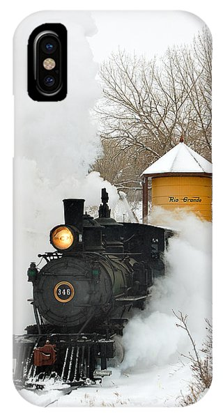 Water Tower Behind The Steam IPhone Case