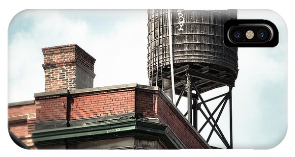 Water Tower In New York City - New York Water Tower 13 IPhone Case