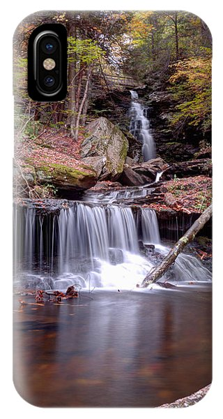 Water Under The Ozone Falls Bridge IPhone Case