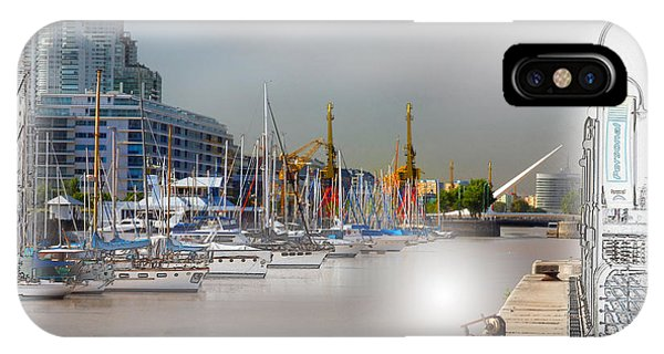 Water Way Buenos Aires IPhone Case