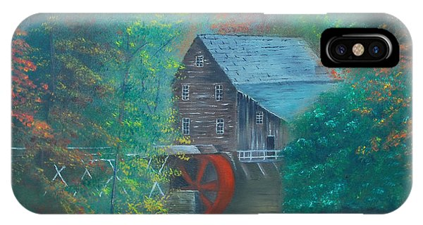 Water Wheel House  IPhone Case