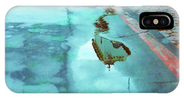 iPhone Case - Watercolor Reflection by Julie Acquaviva Hayes