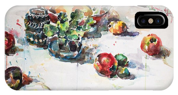Watercolor Still Life In April IPhone Case