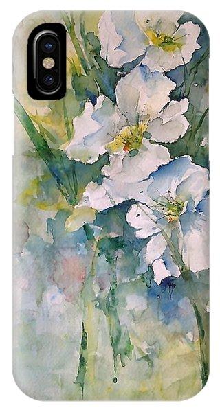 Watercolor Wild Flowers IPhone Case