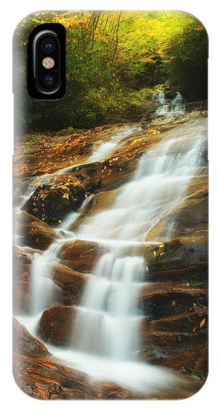 Waterfall @ Sams Branch IPhone Case
