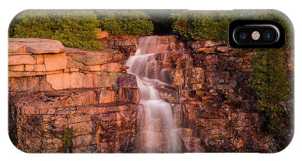 Waterfall Phone Case by Allan Johnson
