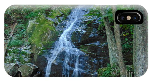 Waterfall At Crabtree Falls IPhone Case