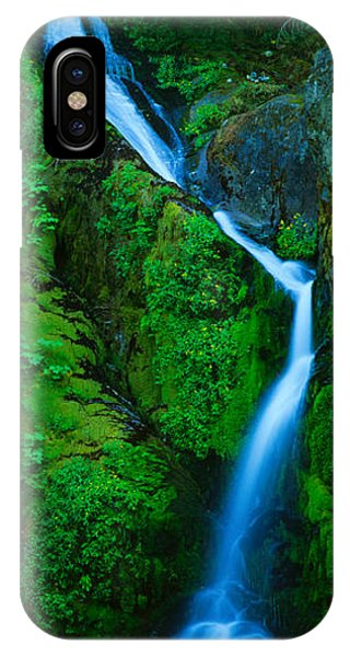Waterfall In A Forest, Sullivan Falls IPhone Case