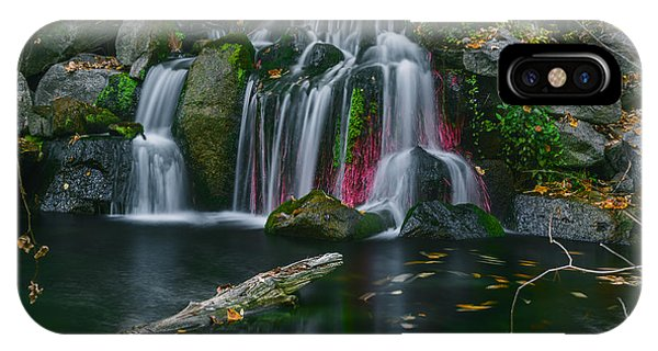 Waterfall In Boise IPhone Case