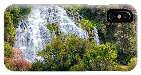 Waterfall In Idaho IPhone Case