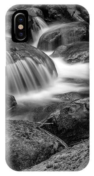 Waterfall In Mount Rainier National Park IPhone Case