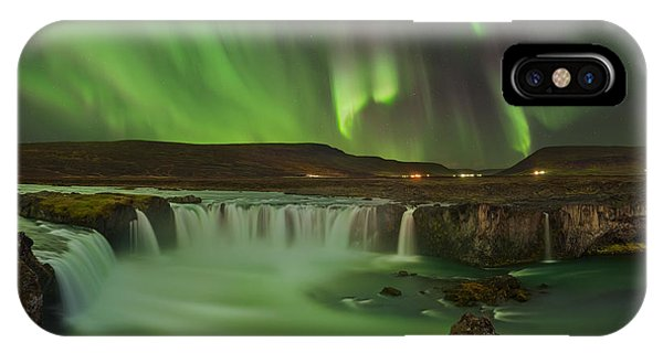 Panorama iPhone Case - Waterfall Of Gods by Jan ??m??d Master