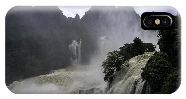 Waterfall Phone Case by Qing