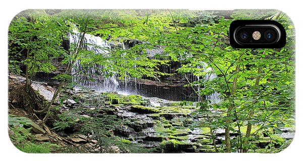 Waterfall Ricketts Glen State Park Pa IPhone Case