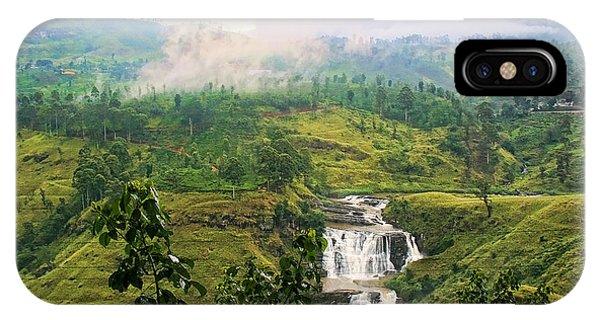Waterfall Phone Case by Sanjeewa Marasinghe