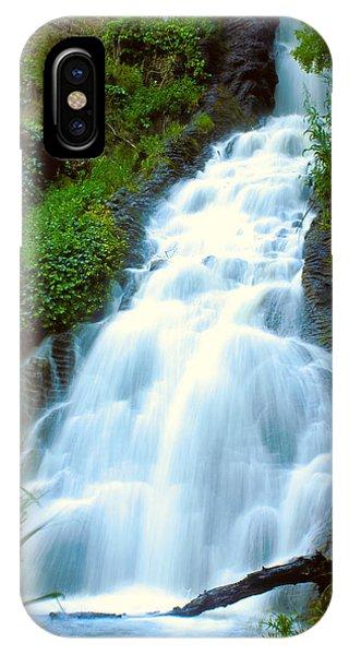Waterfalls In Golden Gate Park IPhone Case