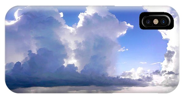 Waterfalls Over Florida Bay Filtered IPhone Case
