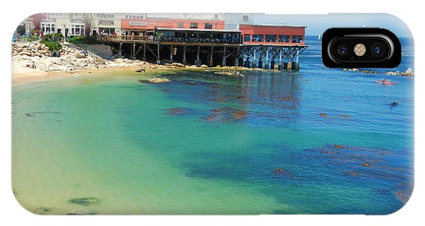 Waterfront At Cannery Row IPhone Case
