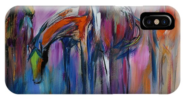 Wild iPhone Case - Watering Hole by Cher Devereaux