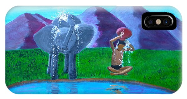 Watering Hole Friends IPhone Case