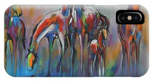 Watering Hole 2 IPhone Case