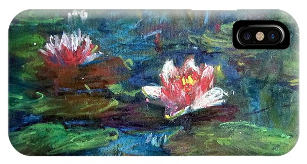 Waterlily In Water IPhone Case