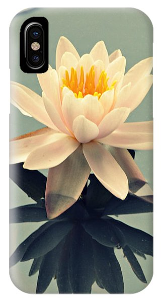 Waterlily On Glass IPhone Case