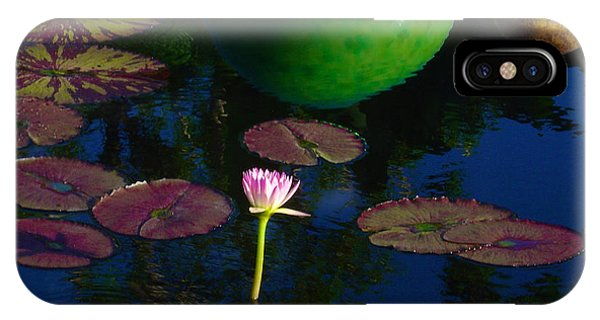 Waterlily Reflection IPhone Case