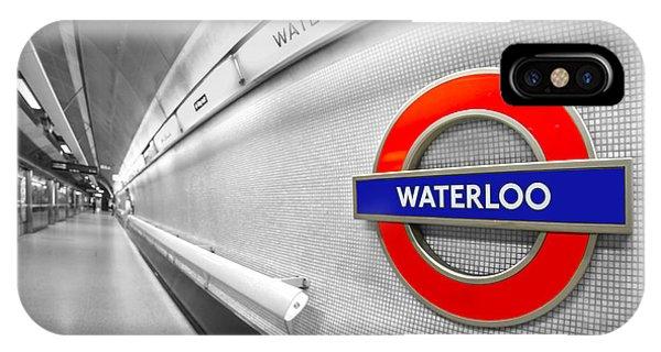 Train iPhone Case - Waterloo by Evelina Kremsdorf