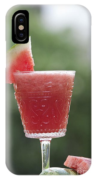 Smoothie iPhone Case - Watermelon Smoothie  by Gal Eitan