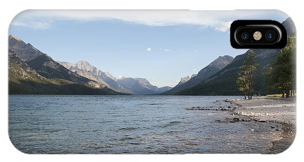 Waterton Lake IPhone Case