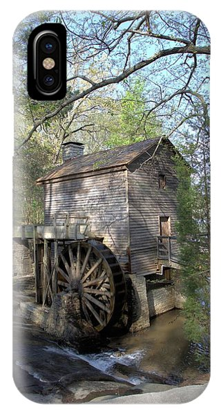 Waterwheel At Stone Mountain IPhone Case