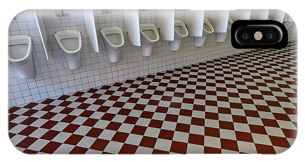 Toilet iPhone Case - Waterworld by Lus Joosten