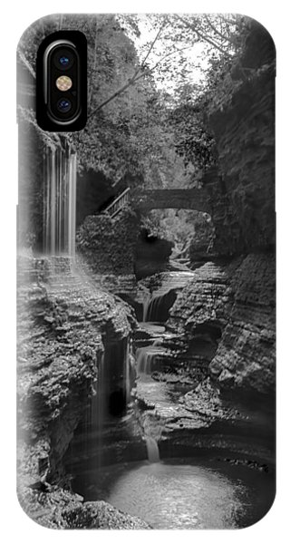 Watkins Glen 02 Bw IPhone Case