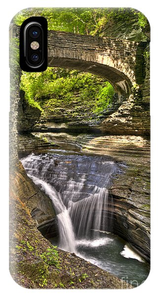 Watkins Glen Waterfalls IPhone Case