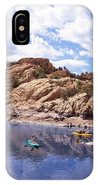 Watson Lake Kayaks IPhone Case
