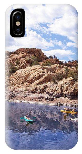 Watson Lake Kayaks IPhone Case