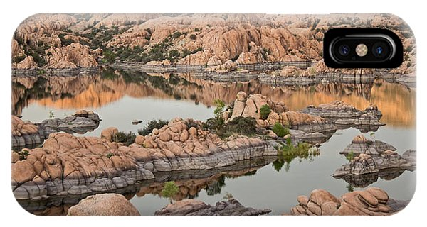 Watson Lake Sunset IPhone Case