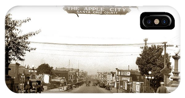 Watsonville California  The Apple City Circa 1926 IPhone Case