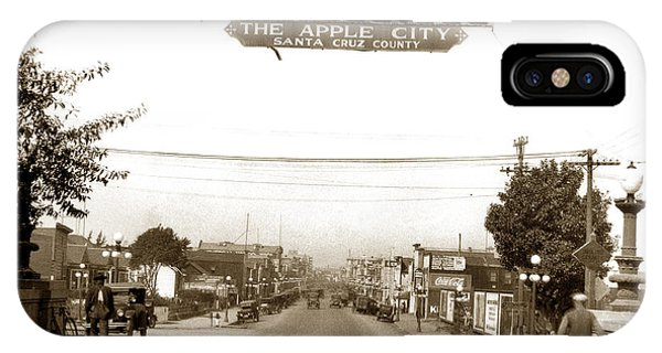 Watsonville California  The Apple City Circa 1926 IPhone Case