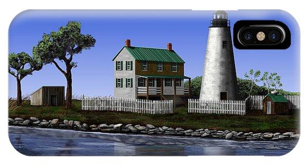 Watt's Island Light Phone Case by Patrick Belote