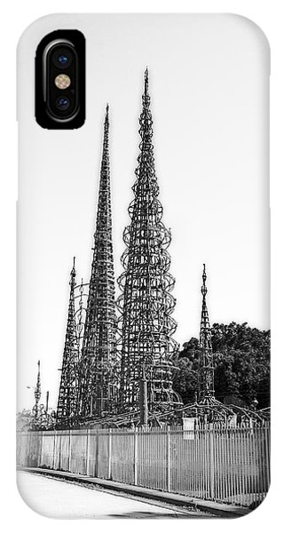 Watts Towers IPhone Case