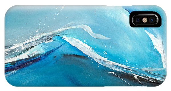 Wave Action IPhone Case