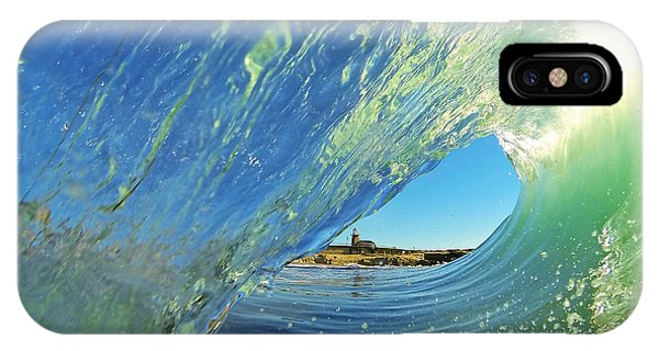 Wave And Lighthouse 2 IPhone Case