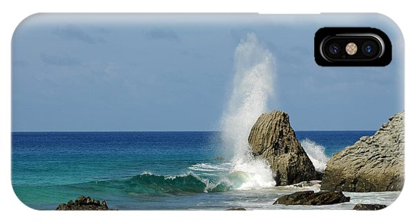 Wave At Boldro Beach IPhone Case