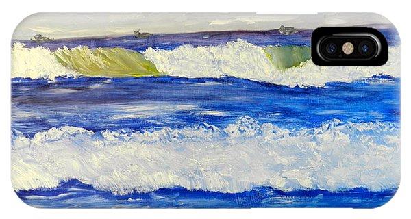 Wave At Bulli Beach IPhone Case
